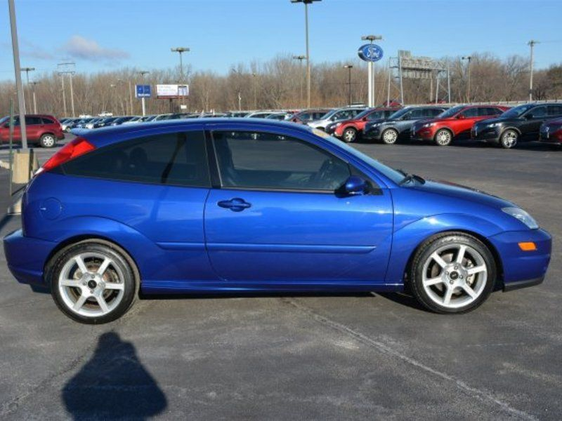 Blue 2004 Ford Focus Svt Svt For Sale In East Peoria Illinois Vin