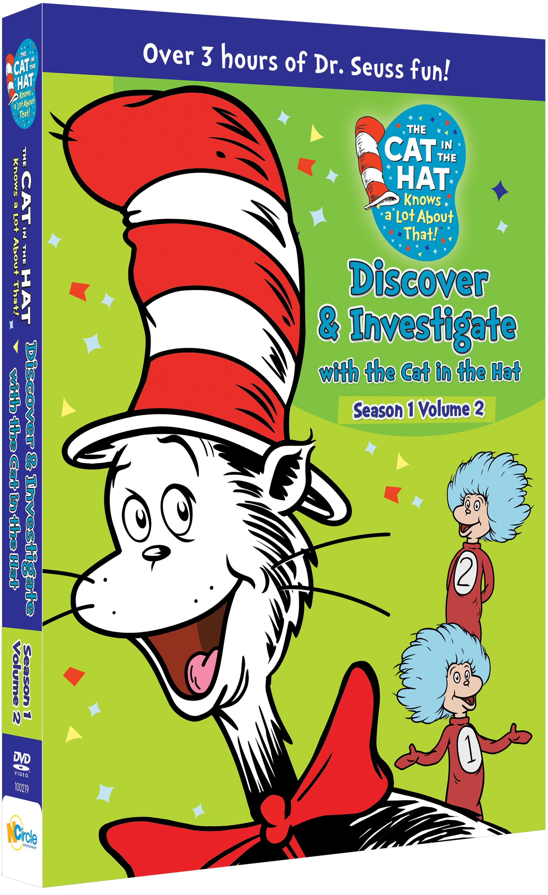 Pin by NCircle Entertainment on The Cat in the Hat Knows a