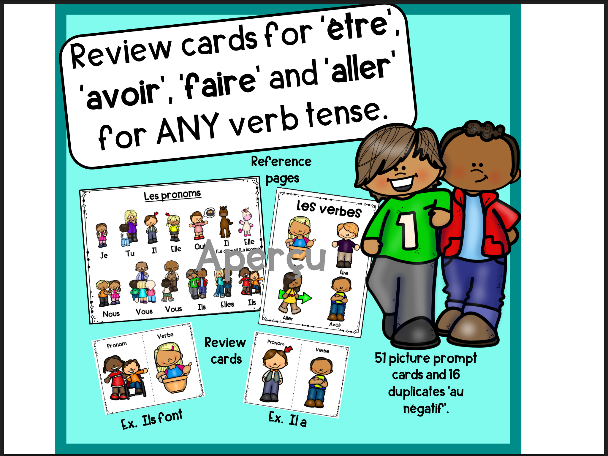Etre Avoir Faire And Aller In Any Verb Tense
