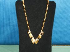 FLORENCE'S FASHIONS tiger eye and indian agate necklaces