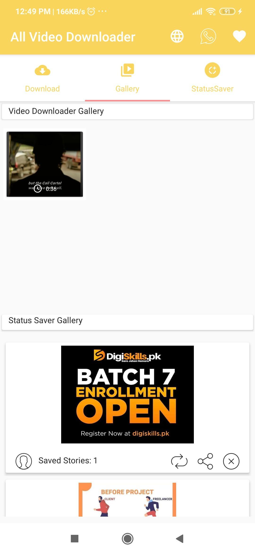 All Video Downloader Storysaver 103 Websites Support Snackvideo Whatsapp Tiktok Instagram Fb All Video Video Psd Template Website
