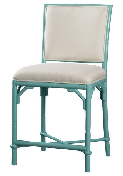 Lilly Pulitzer Counter Stools In White With Indoor Outdoor