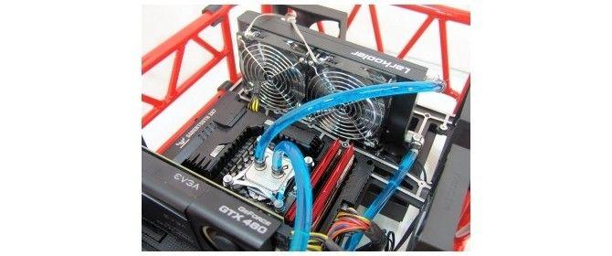 Larkooler Skywater 330 Liquid Cooling System Cpu Cooler Review Cooler Reviews Cooling System Cooler