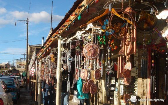 Windchimes in Oatman Matted fine art photograph by ANGELsTIME, $15.00