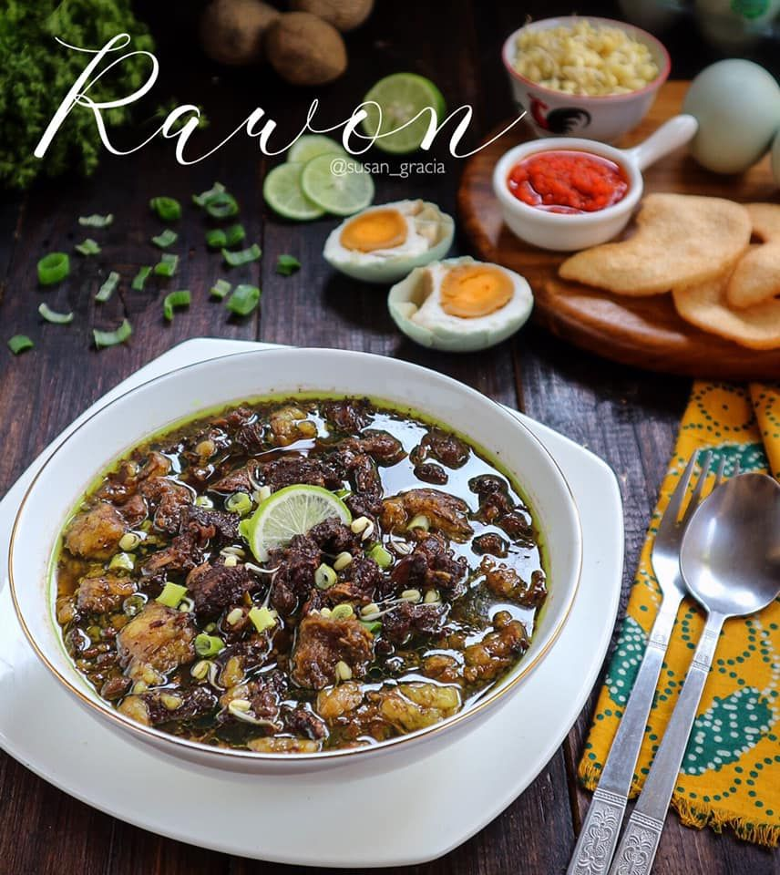 Rawon By Susana Gracia Cathrine Langsungenak Com Resep Di 2020 Resep Masakan Resep Masakan