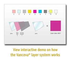 Laminated Glass Made With Vanceva Color Interlayers Has All Of The Strength Durability And Acoustic Benefits Of Traditiona Laminated Glass Coding Interactive