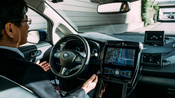 Nissan Tests Fully Autonomous Car In Tokyo Roadkill Imports Nissan Has Not Been Secretive About Its Ambitions Of Producing Autonomou Self Driving Nissan Nissan Leaf