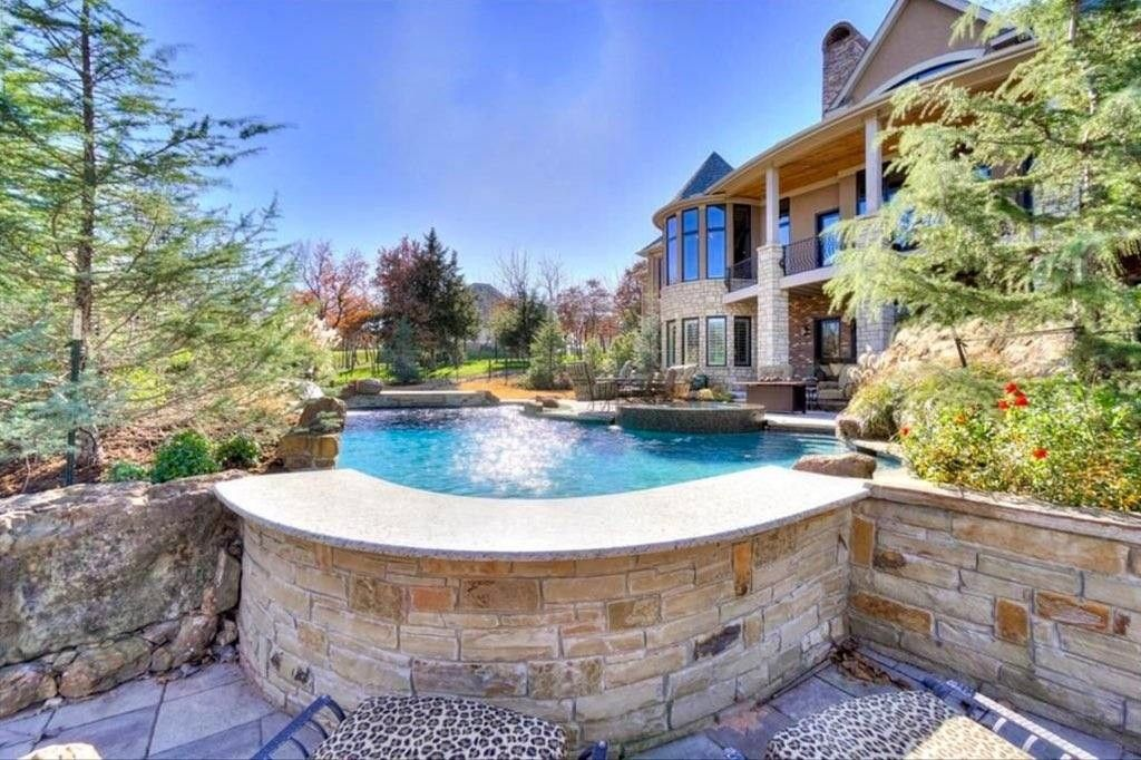 Pool by Aquascapes Pools, Oklahoma City. www.aquascapeokc ...