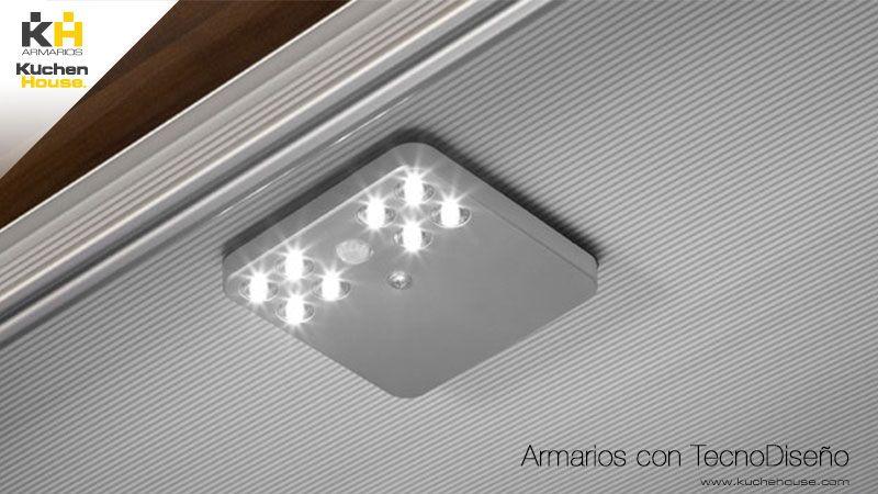 Lampara Led De Alta Luminosidad Con Sensor De Movimiento Y Conexion Usb Armarios Kuchen House Calidad Y Mueble Aleman Lampara Led Led Sensores De Movimiento