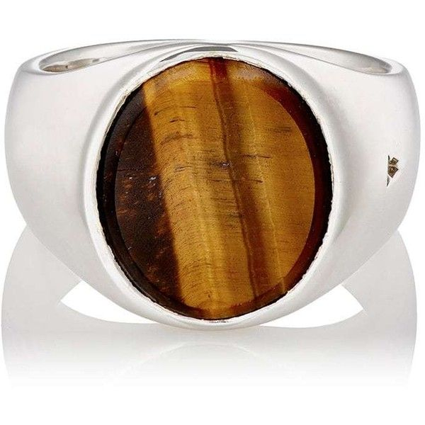Tom Wood Womens Oval-Face Signet Ring iqULGl