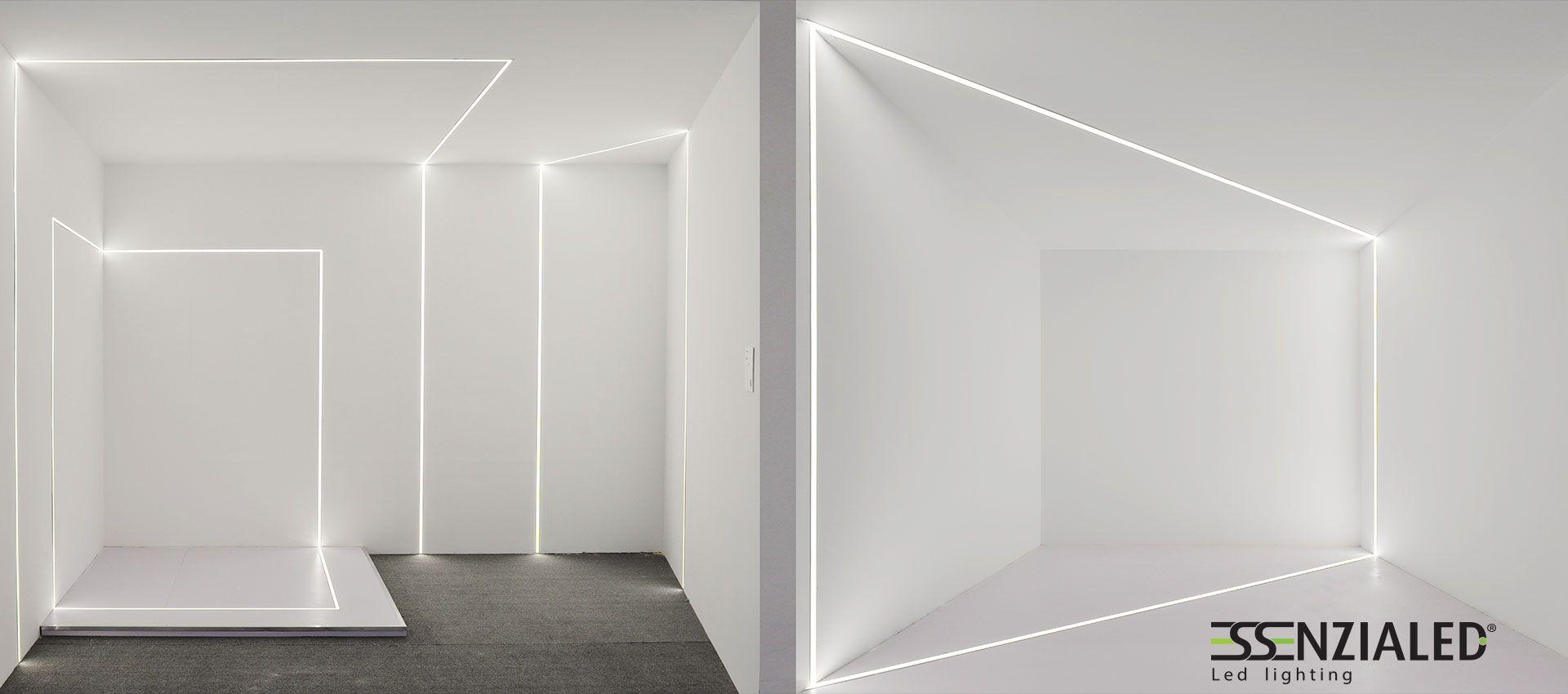 ... di luce cartongesso a Led su misuraEssenzialed – Illuminazione a led