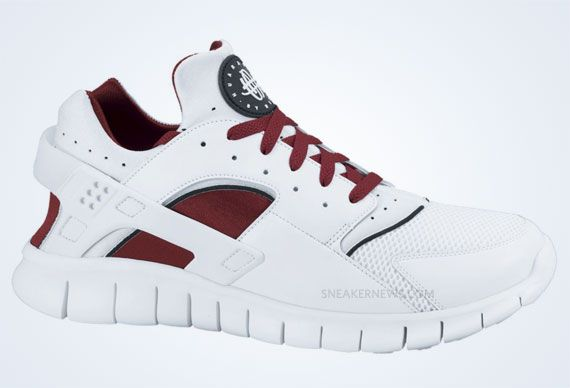 8bdc06f81cf9 Nike Huarache Free 2012 - White - Team Red - SneakerNews.com