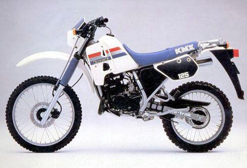 kawasaki kmx 125 1986 bikes motorbikes motorcycles motos motocicletas fotos de motos in. Black Bedroom Furniture Sets. Home Design Ideas