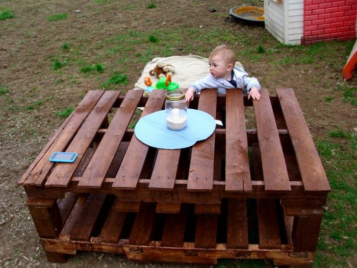 Pallet Table Ideas   Upcycle Art-- Pallet table ideas are so amazing for your home decor. We have used pallet wood in countless practical art crafts in our website. But pallet wood is so diverse…