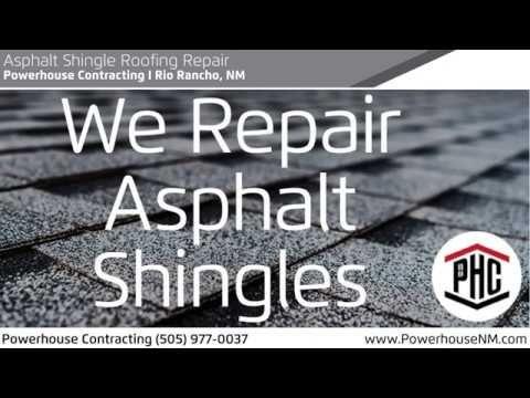 Asphalt Shingle Roofing Repair in 2020 | Roof repair ...
