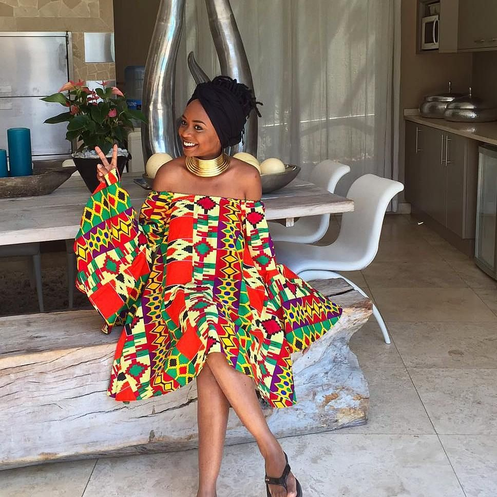 La Vie Eet Tellement Courte Mon Ami Si Tu As L Occasion Faut En Profiter Proud To Wear Sou African Print Fashion Dresses African Fashion Women African Fashion