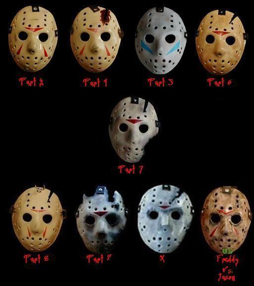 Jason Masks Jason Voorhees Jason Voorhees Hockey Mask Jason Mask