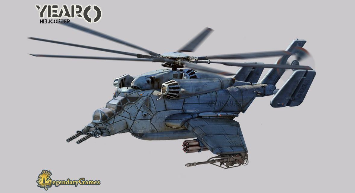 Helicopter+gunship+hovercopter+hovercraft+concept+design ...