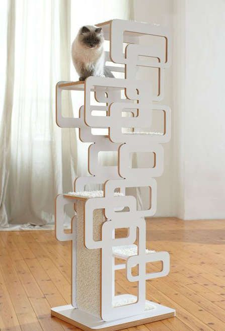 arbre a chat decoratif