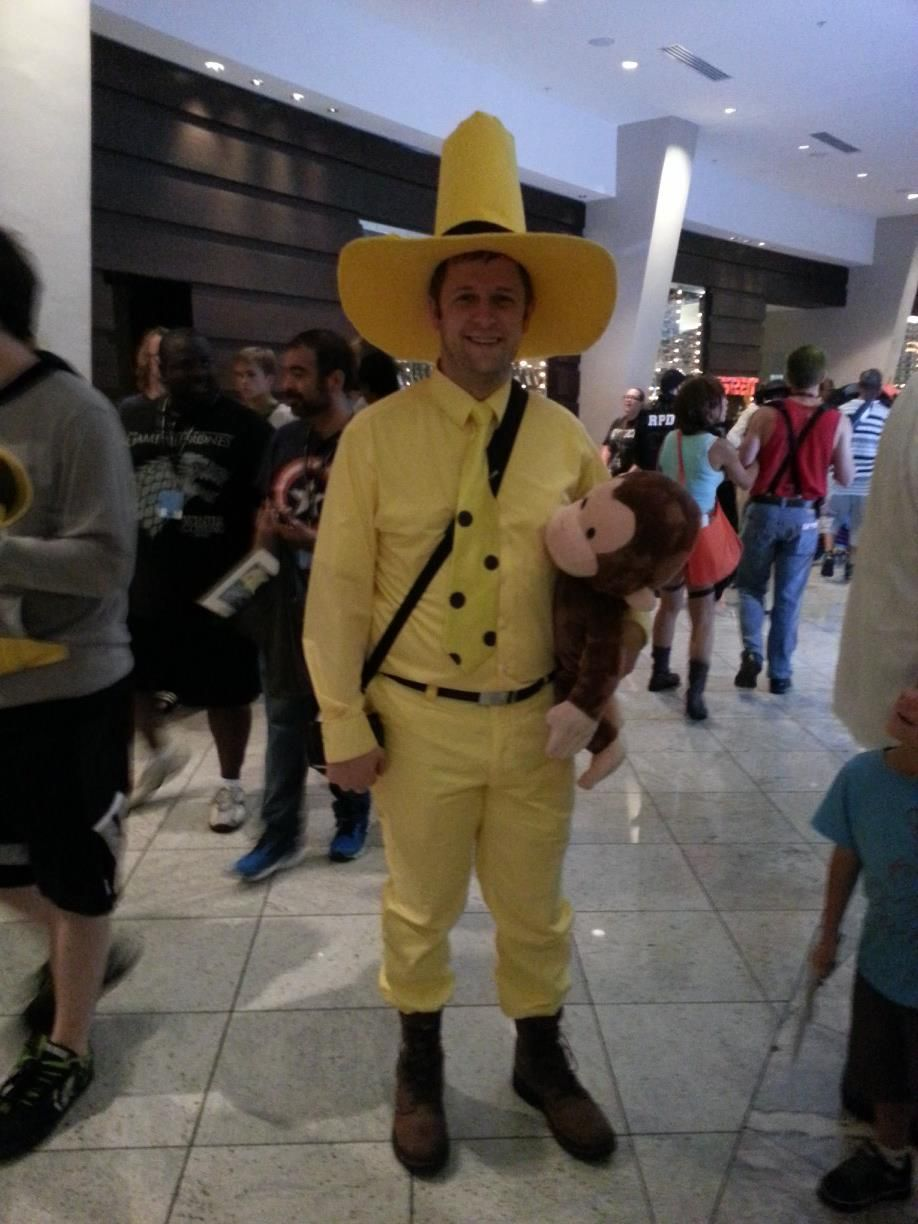Man In The Big Yellow Hat Curious George Dragoncon 2013 Dragon
