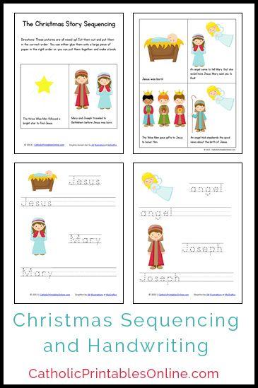 Christmas Mini Book and Handwriting Printables for ...