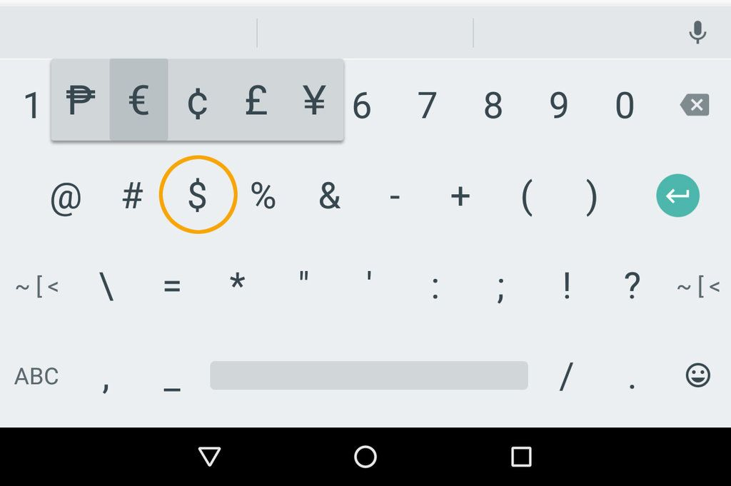 How To Add Currency Symbols To Text In Android Currency Symbol