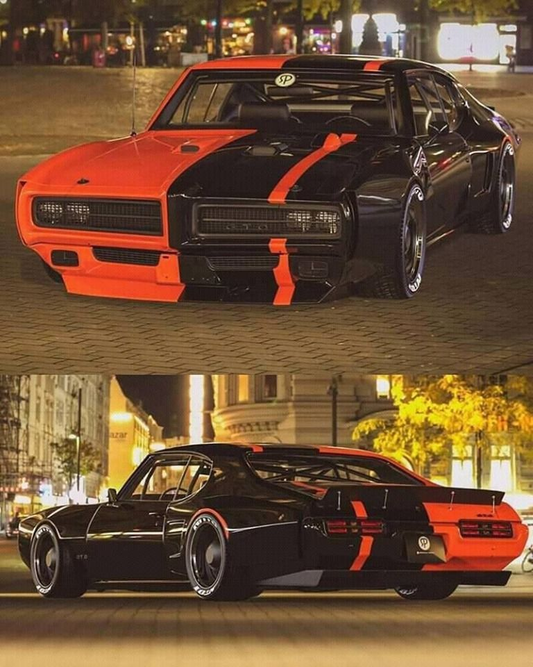 Wicked Pontiac GTO! #DodgeChargerclassiccars