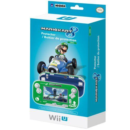 Hori Mario Kart 8 Protector (Luigi) - Nintendo Wii U, 2015 Amazon Top Rated Faceplates, Protectors & Skins #VideoGames