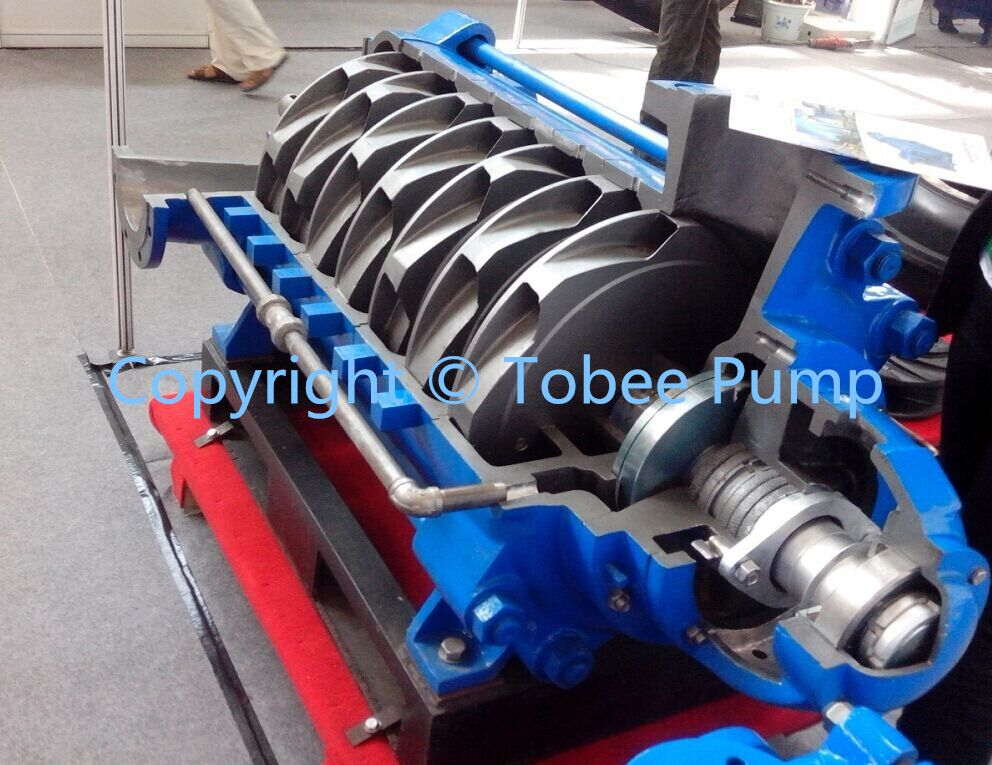 TD Multistage Water Pump is suitable for transporting pure