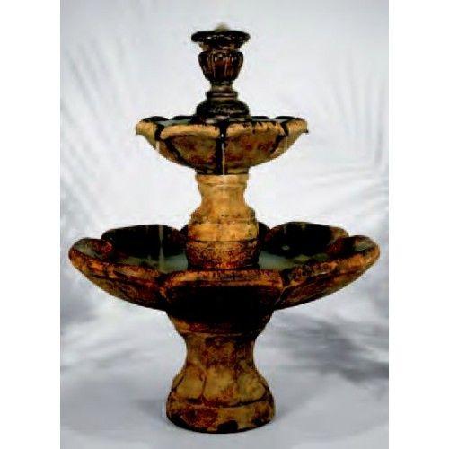 Finial Fountain, 6 PC