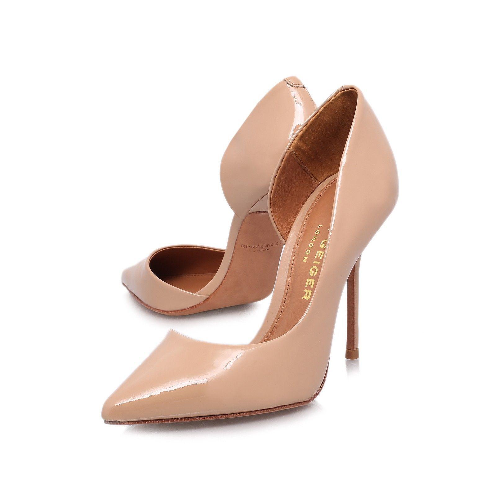 anja, nude shoe by kurt geiger london - women shoes courts ...
