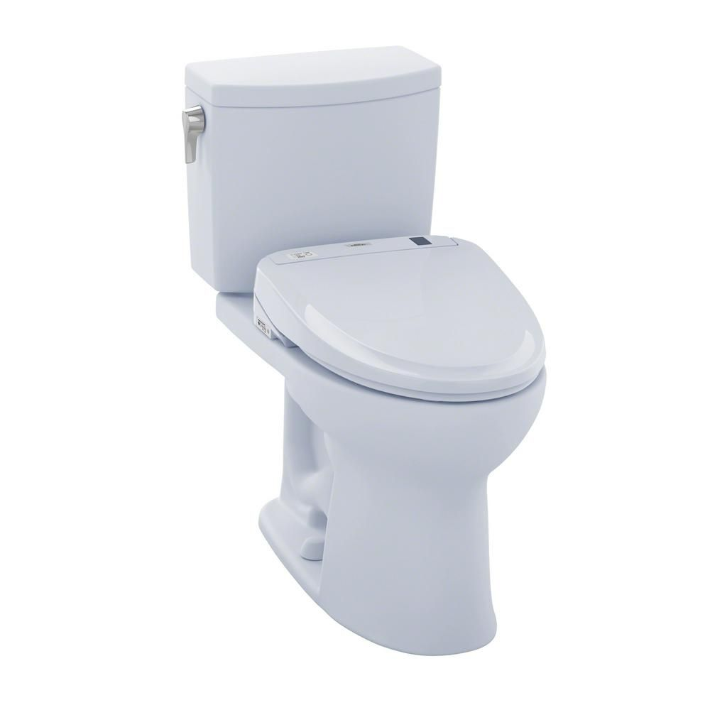 Toto Drake Ii Connect 2 Piece 1 0 Gpf Elongated Toilet With