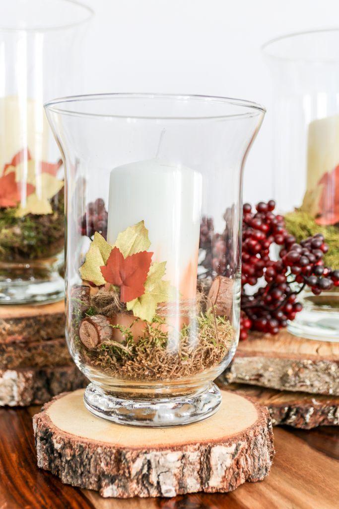 Bild von DIY: Herbstliche Kerzen als Deko fürs Wohnzimmer mit PilotPen. [W