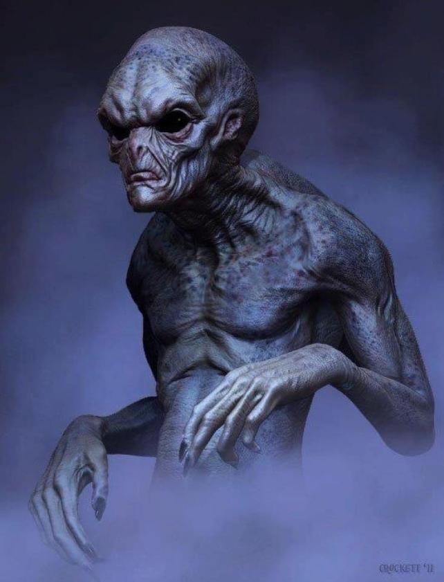 Razas extraterrestres basados en el libro ruso secreto