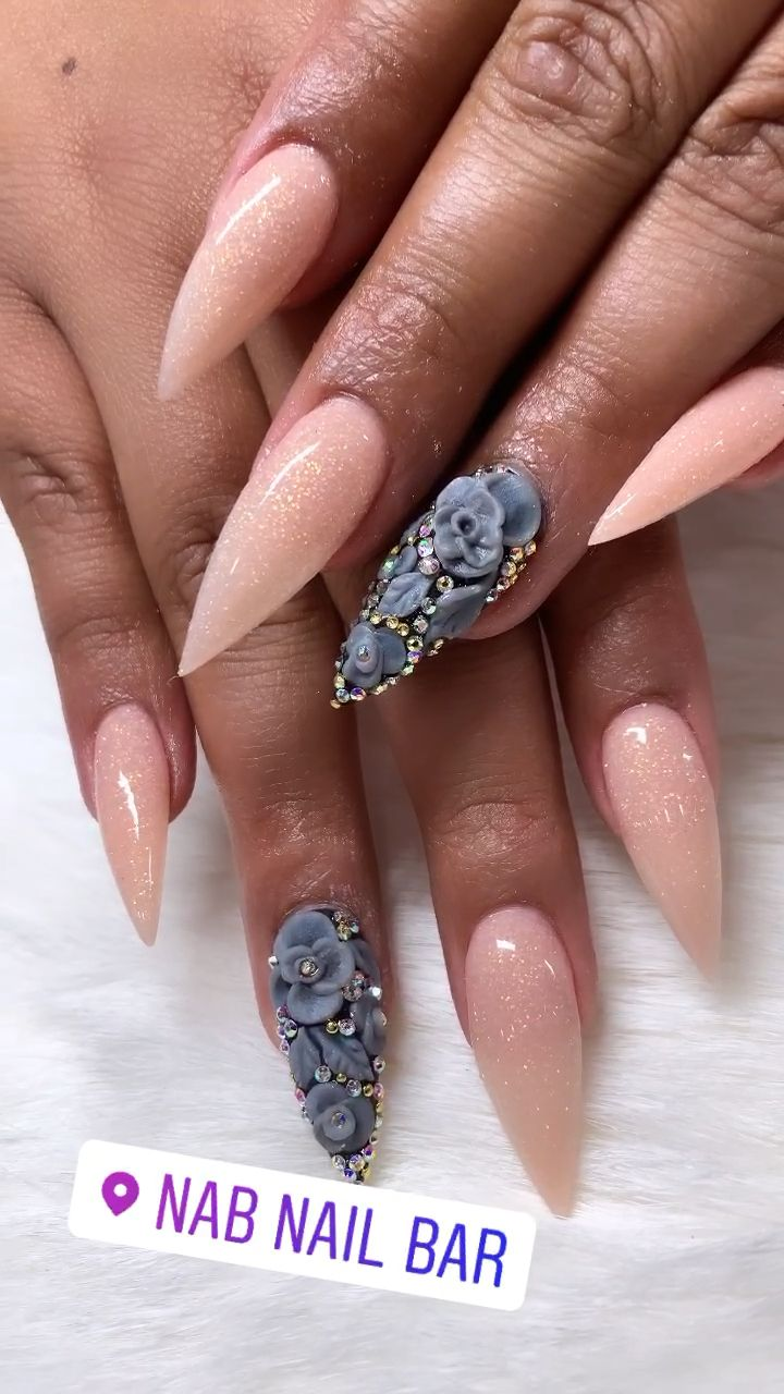 Best Acrylic Nails Las Vegas Video Best Acrylic Nails Cute Acrylic Nails Stiletto Nails Designs