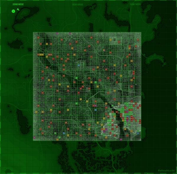 Just how big is the Fallout 4 map   fallout  fallout4  videogames     Just how big is the Fallout 4 map   fallout  fallout4  videogames