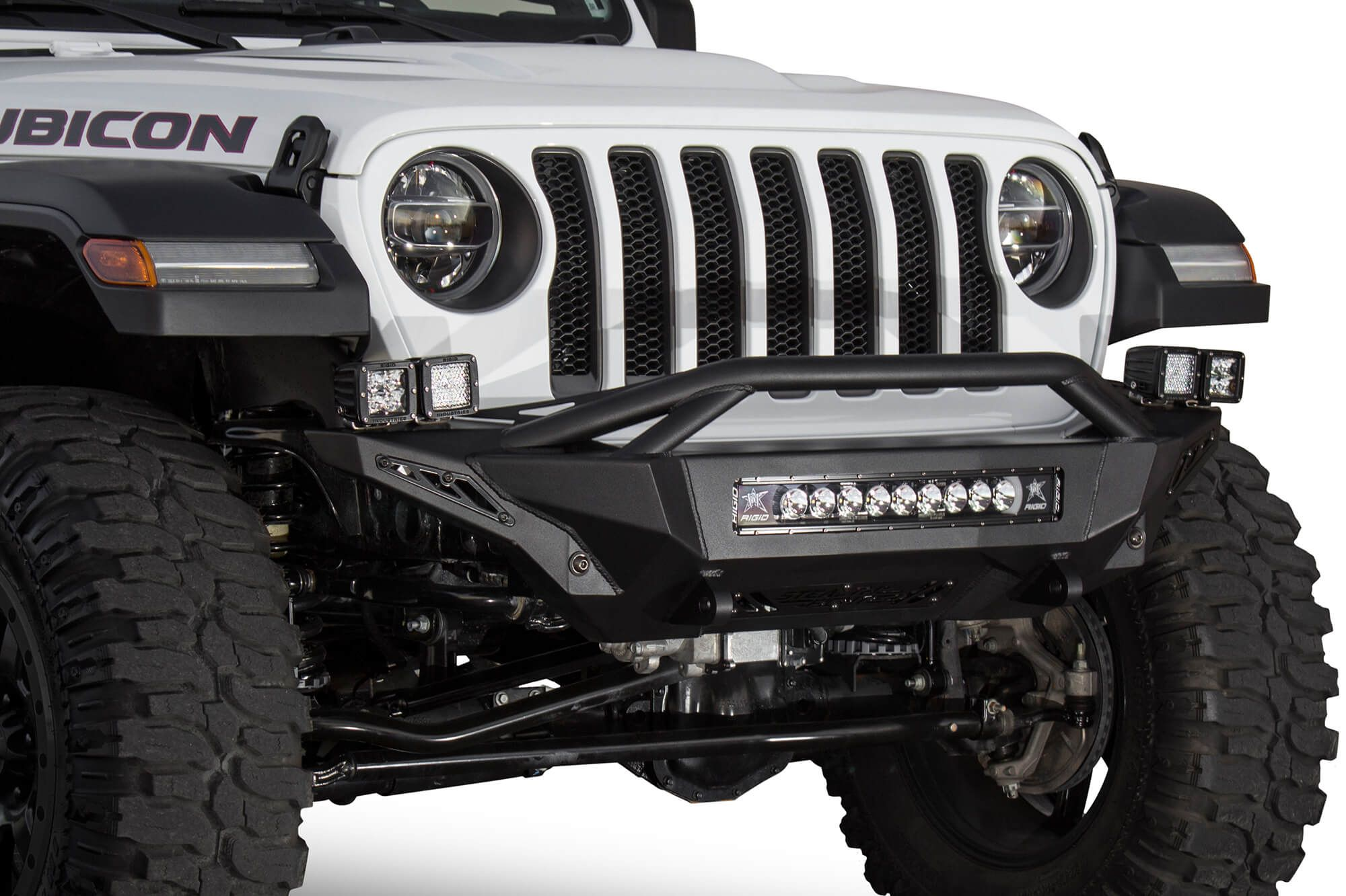2018 2020 Jeep Jl Jt Stealth Fighter Top Hoop Front Bumper