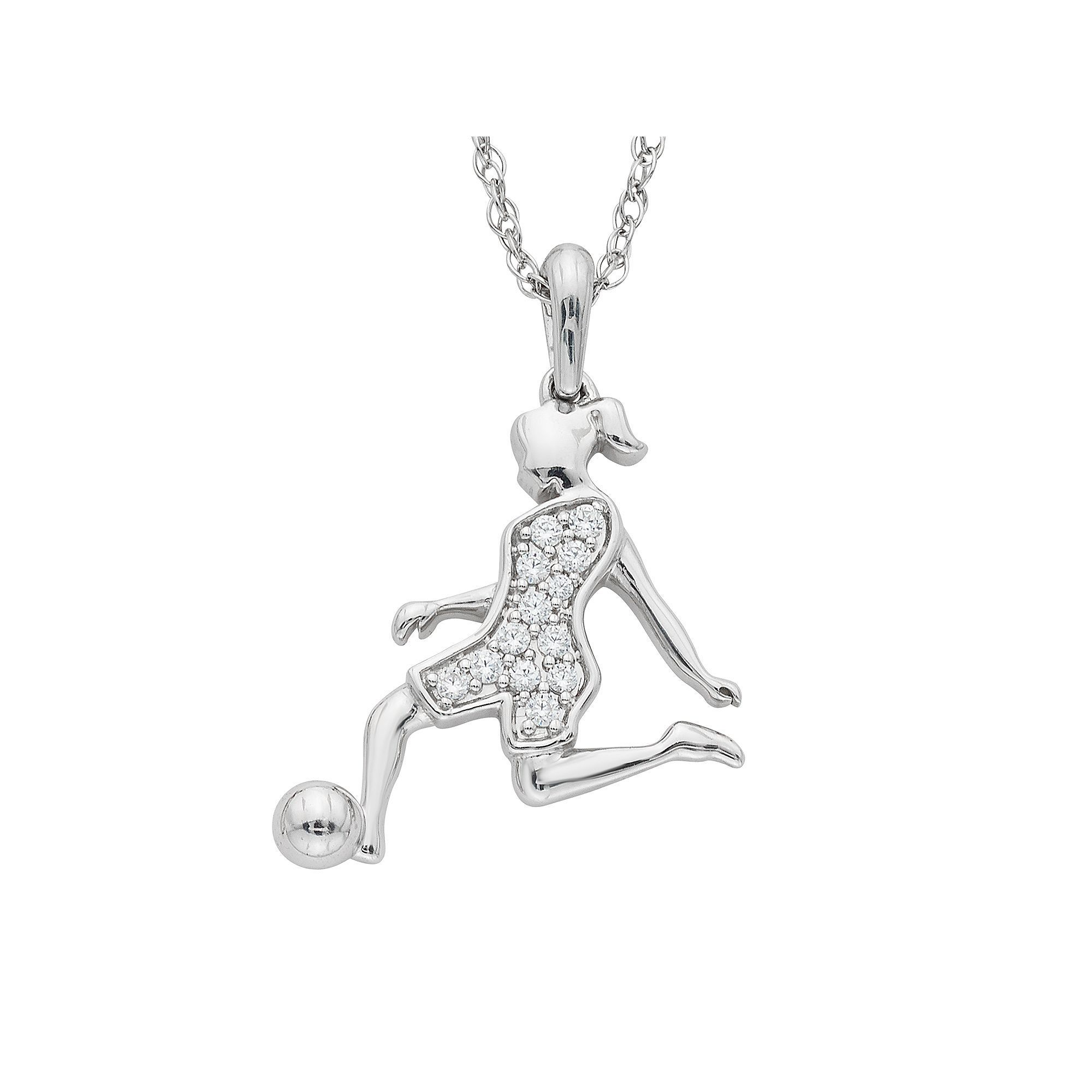 over collection silver jewelry sterling watches shipping product free orders overstock soccer ball journee on pendant