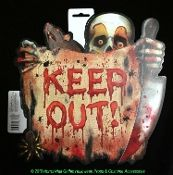 Halloween Keep Out Signs