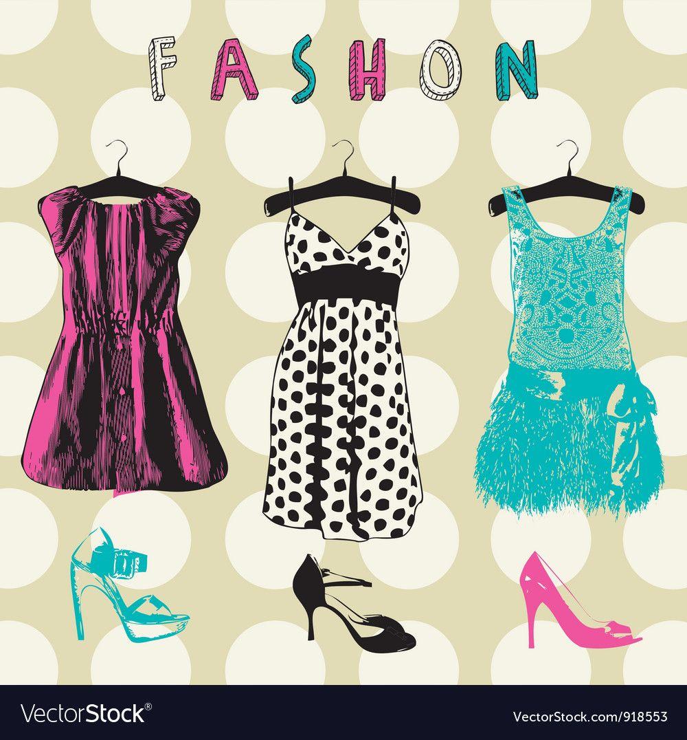 Vintage Fashion Pattern Background Royalty Free Vector Image Affiliate Pattern Background Vin In 2020 Pattern Fashion Floral Pattern Vector Fashion Background