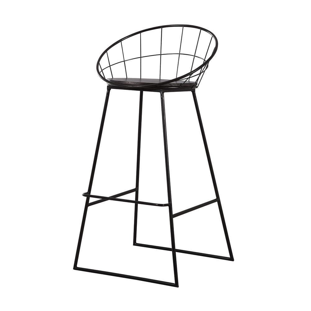 Pleasing Firstime Co 37 In Colton Wireframe Bar Stool 70078 In Creativecarmelina Interior Chair Design Creativecarmelinacom