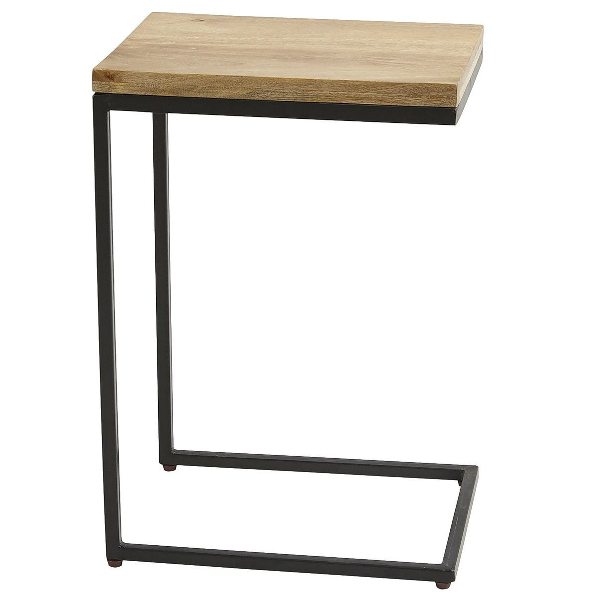Takat Natural Mango Wood C Table C Table Coffee Table Living Room Furniture