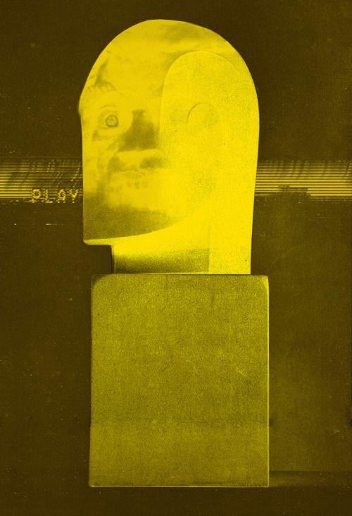 Eddie Spanier + Black Monk, VHS Tape Loop in a Magnetic Field, 2014