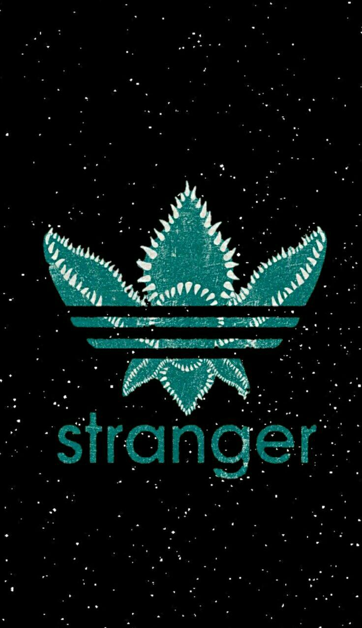 Stranger Things 🖤 addidas weed strangerthings Sfondi