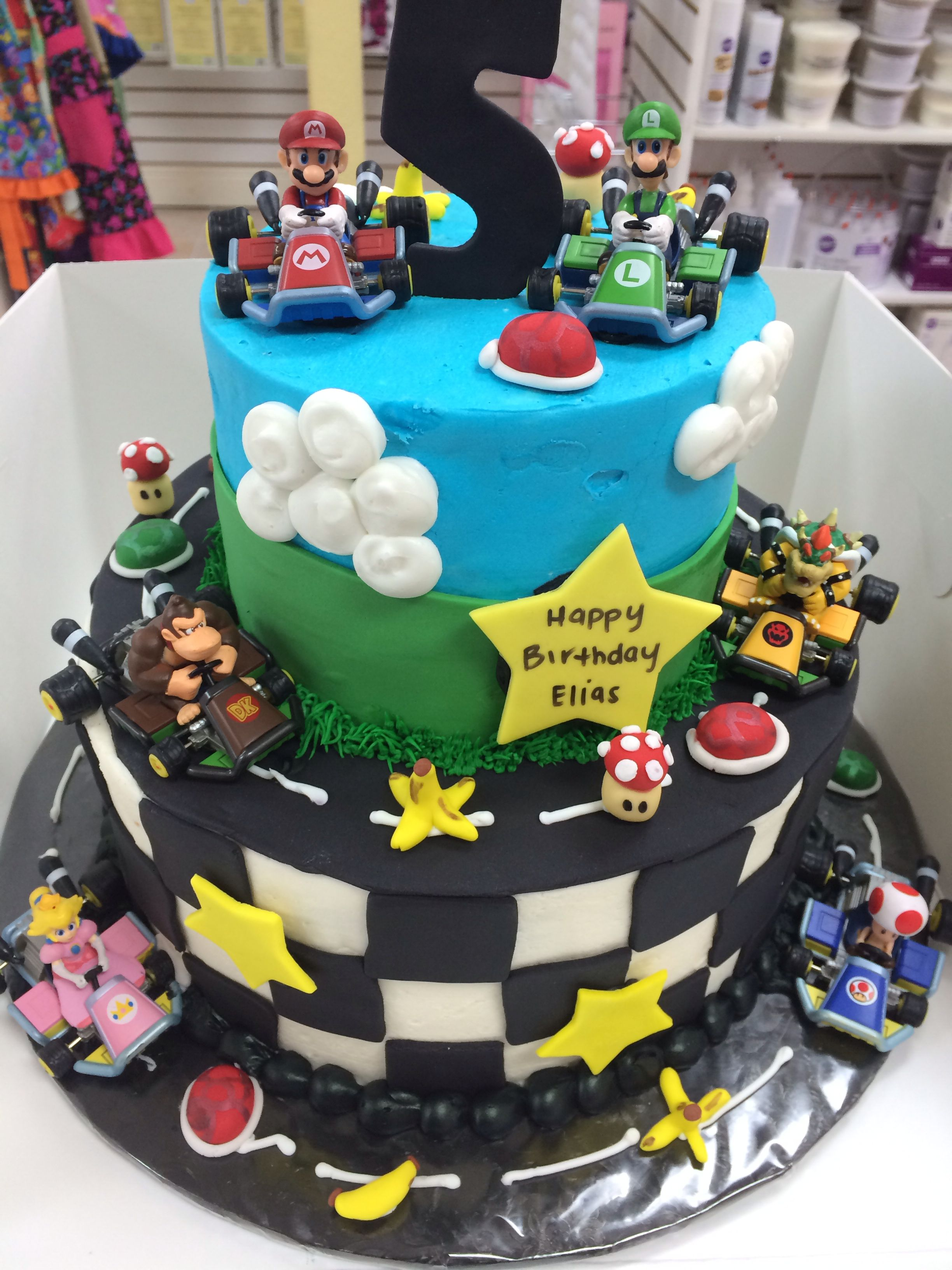 Super Mario Cake By Megan's Bake Shop In West Sacramento