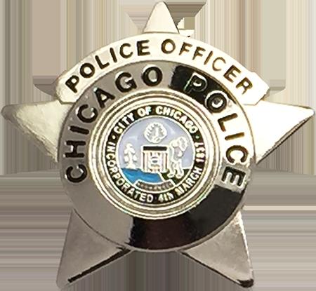 Chicago Police Star Police Officer Lapel Pin 5 95 Police Police Officer Police Badge