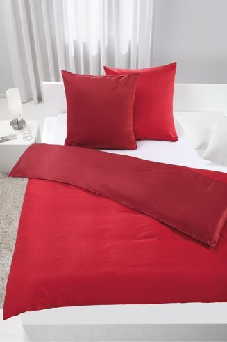 Makosatin-Bettwäsche für zwei – anschmiegsam und in spannender Farbkombination