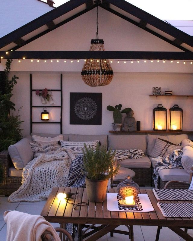 #outside #entertaining #outdoors #party #lights