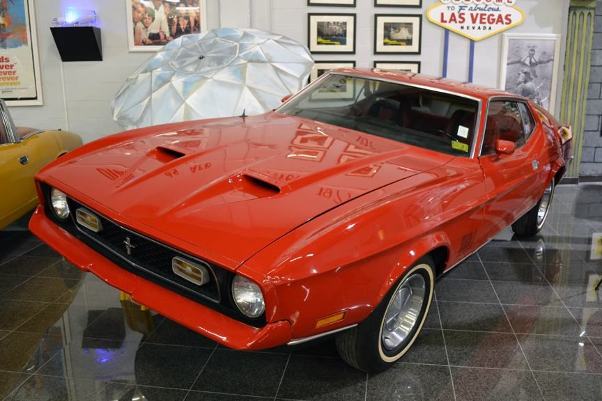 The 1971 Ford Mustang Mach 1 That James Bond Drove In Diamonds Are
