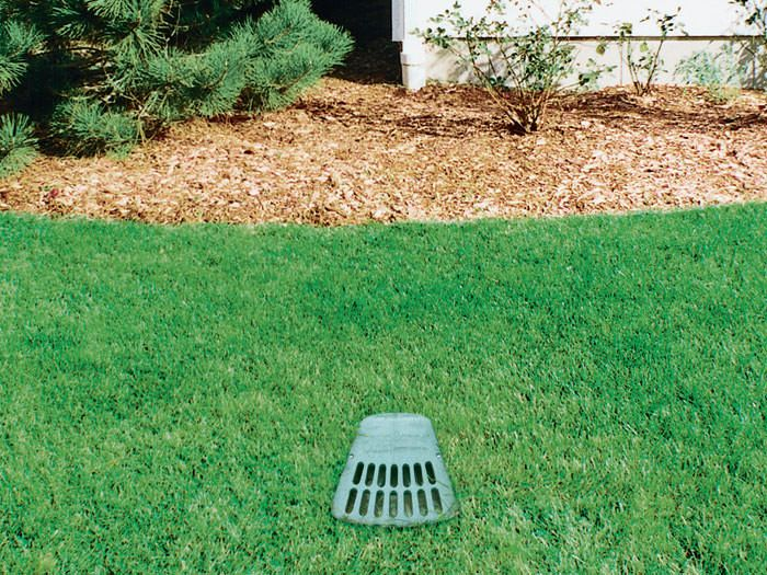 A Buried Gutter Drain Downspout Extension Home Ideas